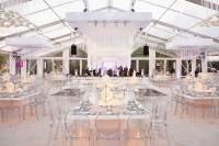Wedding Ideas & Trends: Clear-Top Wedding Tents - Inside ...