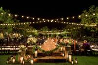 5 Examples of Nighttime Wedding Ceremony Dcor for