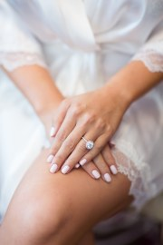 wedding nails 's style