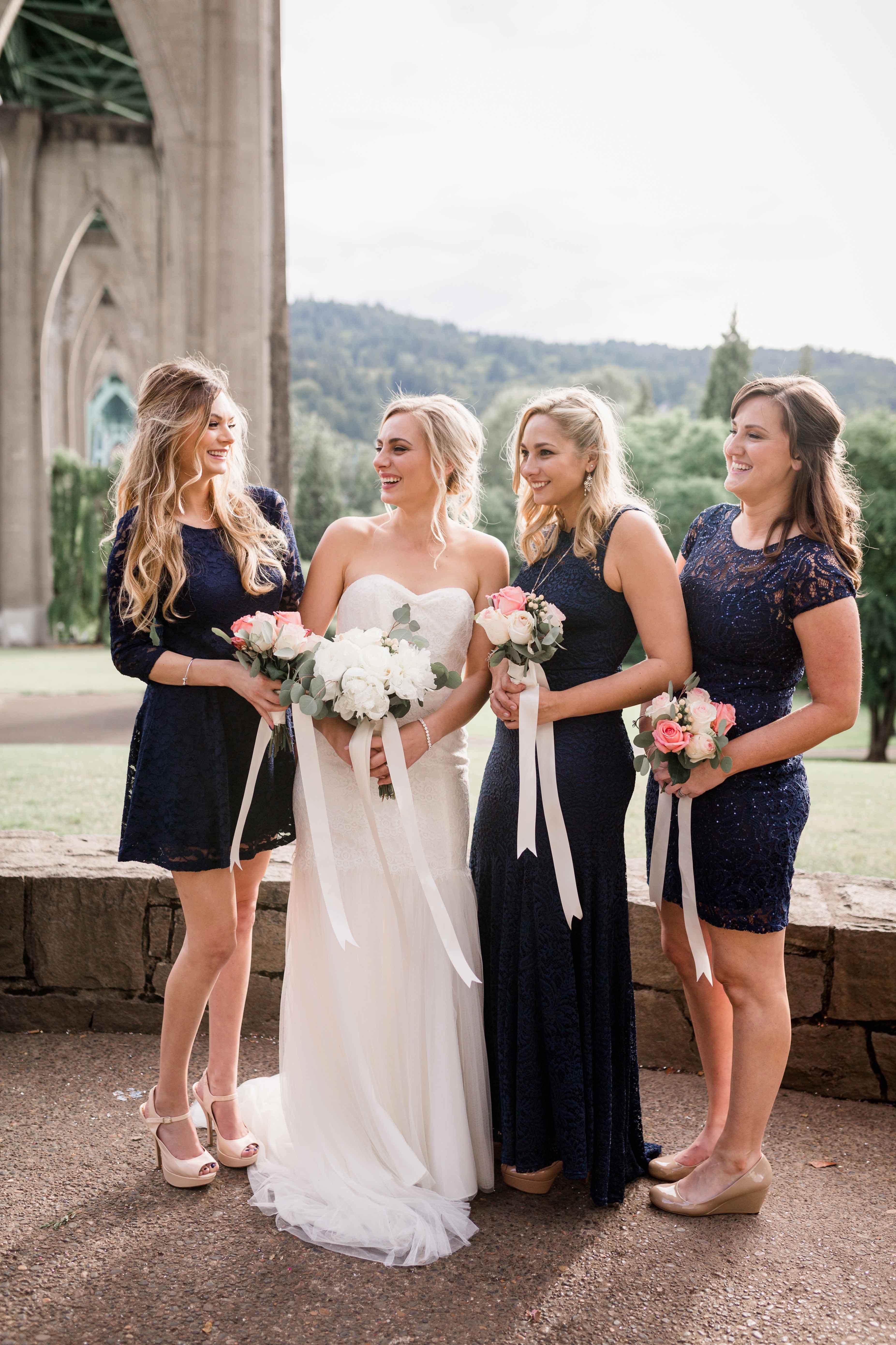 6 different bridesmaid dress