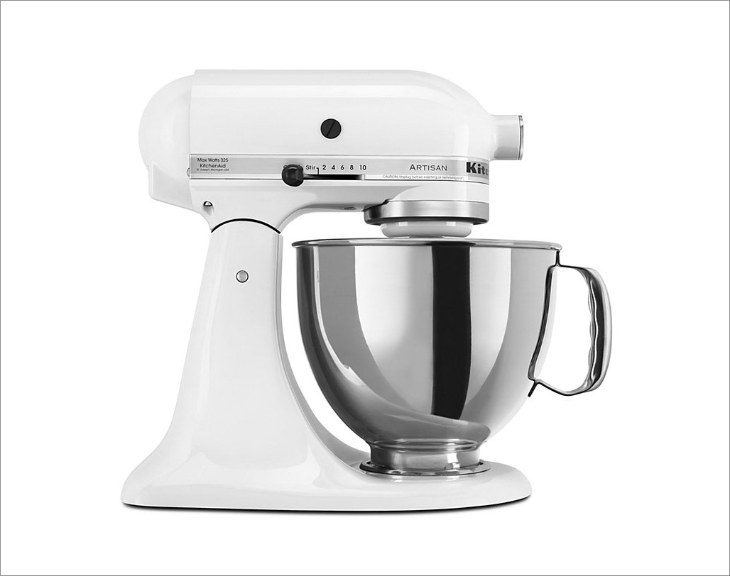 kitchen aid standing mixer cabinets remodel wedding registry popular items to add your wish list