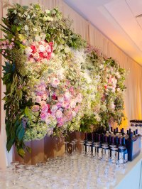 Wedding Ideas: Flower Wall Inspiration for Your Ceremony ...