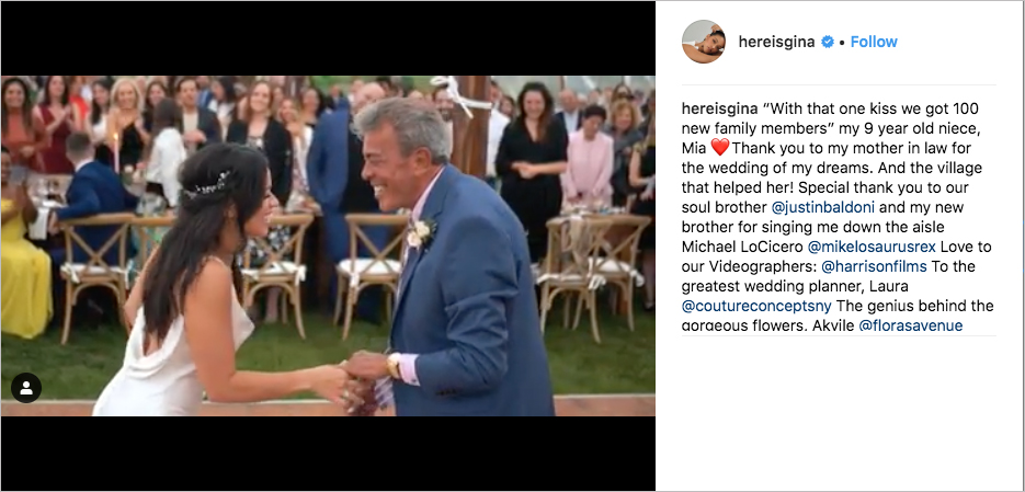 Gina Rodriguez and Joe LoCicero Are Married  Inside Weddings