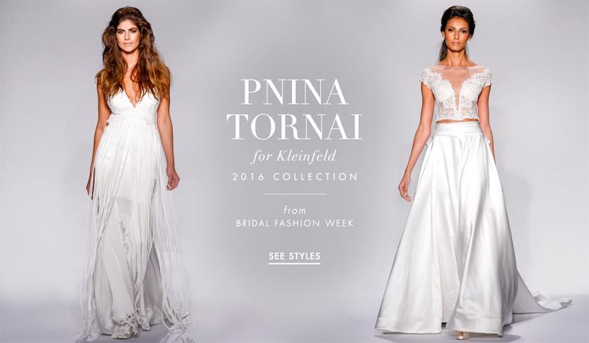 Wedding Dresses: Pnina Tornai For Kleinfeld Bridal 2016
