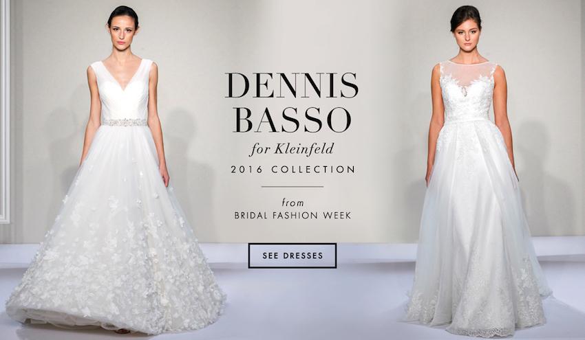 962a71e8458a Wedding Dresses Dennis Basso For Kleinfeld Bridal 2016