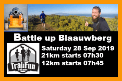 Battle up Blaauwberg Hill