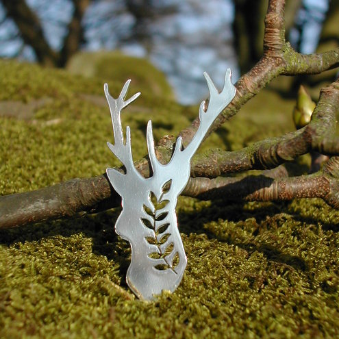Stag Brooch - Alexis Southam Jewellery