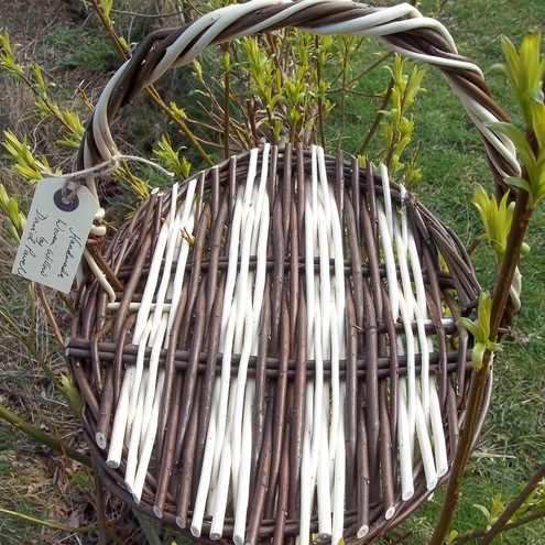 Woven willow basket - Raggle Taggle