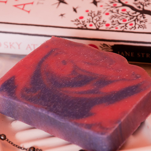 Red Sky at Night handmade soap