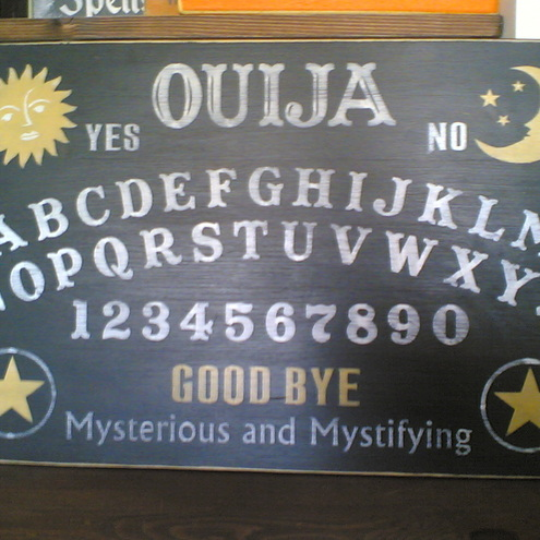Shabby Chic Primitive Ouija Board by Tigerlilly Primitives