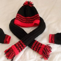 Children And Toddlers Matching Hats And Scarves Kids Will ...