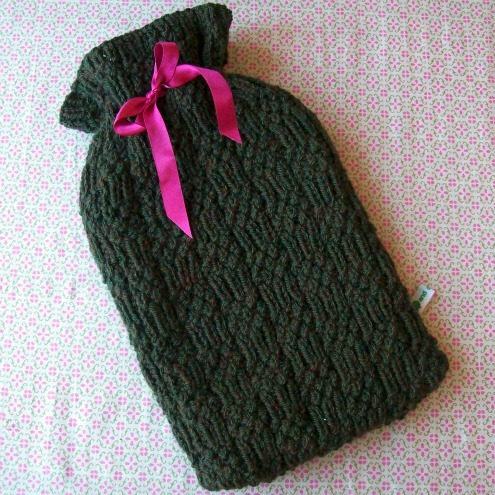 Hot water bottle cover for cold days £20.40