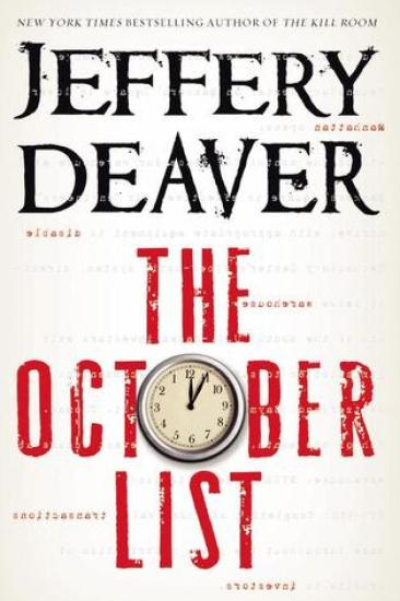 Book Review – The October List by Jeffery Deaver