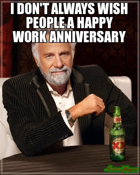 30 Year Work Anniversary Meme : anniversary, Hilarious, Anniversary, Memes, Celebrate, Career, Fairygodboss