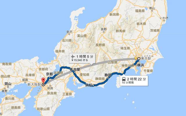 【日本自由行・交通】向西邊出發:從東京去大阪 | tsunagu Japan 繫日本