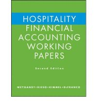 Hospitality Financial Accounting Working Papers : Jerry J ...