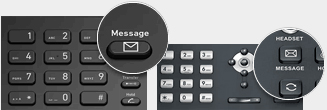 Use your phone to playback voicemails