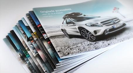 Zubehörbroschüren für Mercedes-Benz Accessories