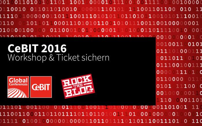 Workshop zur CeBIT am 18. März: Werden Sie zu Helden der digitalen Zeitenwende.