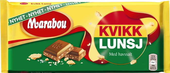 """Norsk """"tursjokolade"""" sätter smak på nya Marabou Kvikk Lunsj"""