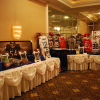 Items from last year's auction.