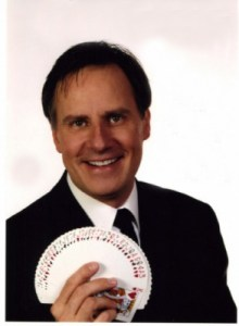 Ken Mate, comedian and magician to perform at the PHS dinner and auction.