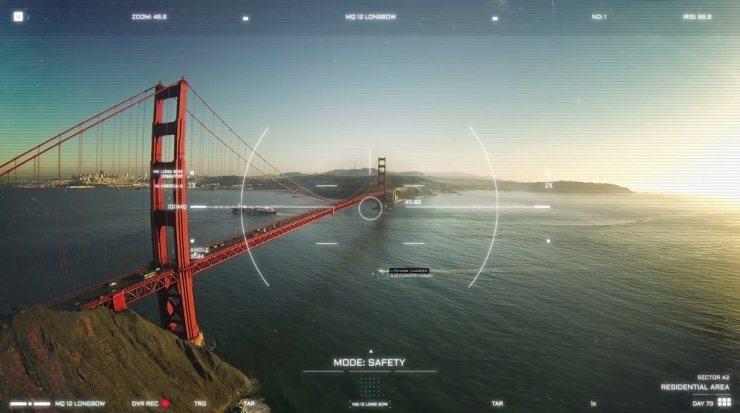 Our Drone Future: Drones semi autónomos patrullando ciudades