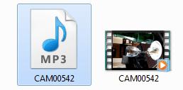 Extraer el audio o la foto de un vídeo