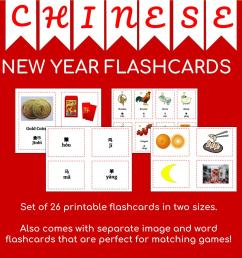 Chinese New Year 2019 Flashcards + Mask from The Running Classroom [ 1152 x 1152 Pixel ]
