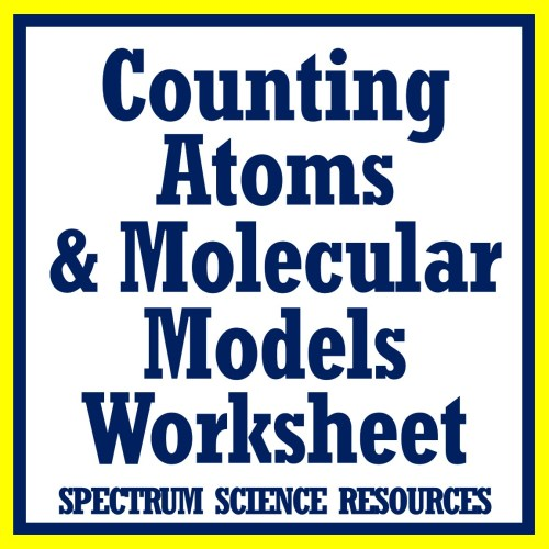 small resolution of Counting Atoms Worksheet from Flying Colors Science