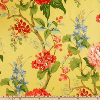 Waverly Bliss Lemon Drop Fabric