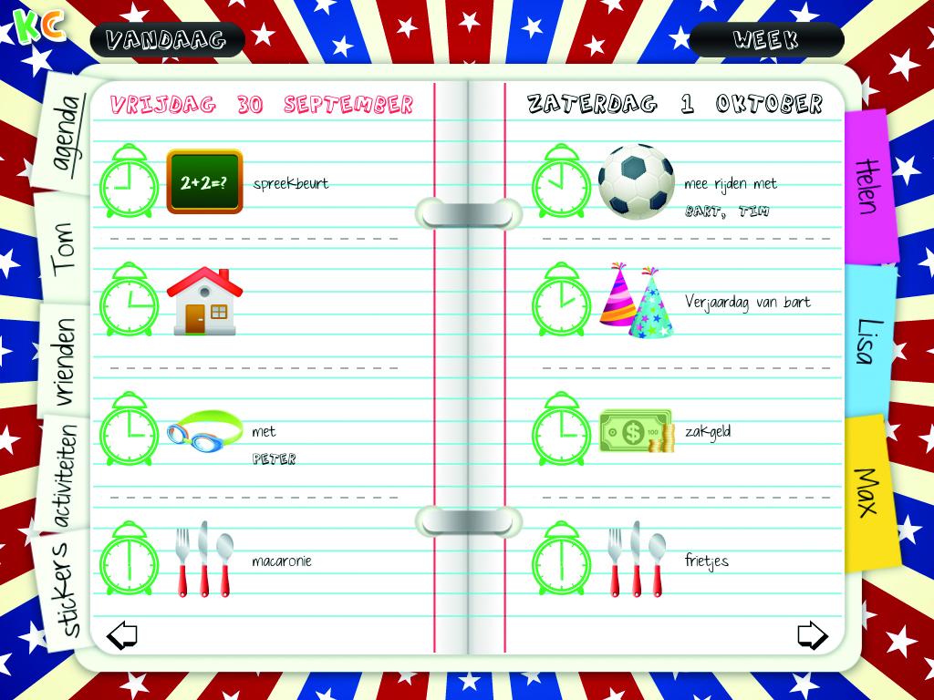 Nieuwe Ipad App Kids Calendar Brengt Kinderen Overzicht