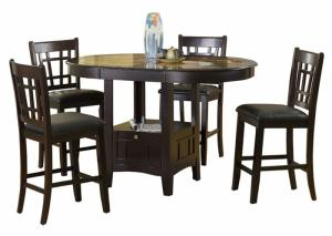 high top table chair set lounge umbrella we have affordable dining room sets from trusted furniture brands charleston capuccino 5 piece pub