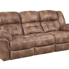 Ryker Reclining Sofa And Loveseat 2 Piece Set Apartment Therapy Guide Ivan Smith Haygen Almond Home Stretch