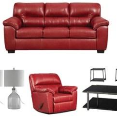 Red Living Room Set Beds In Ivan Smith Affordable Furniture Austin