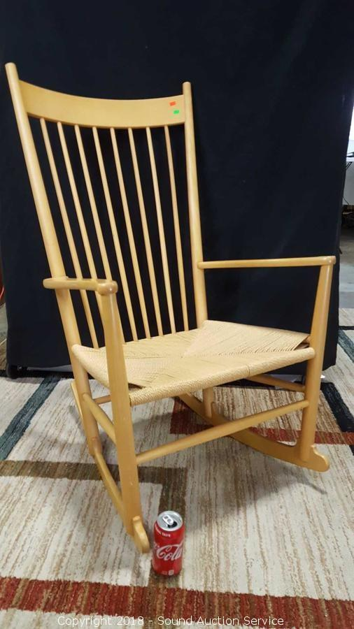 danish modern rocking chair swivel rpa sound auction service 08 21 18 this that item beautiful