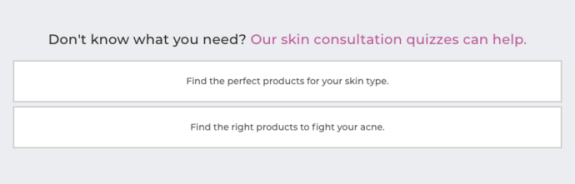 Platinum Skin Care quiz