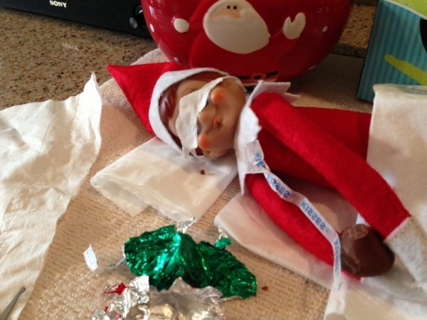 Adults ONLY When Elf On The Shelf Goes X Rated