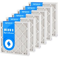 MERV 8 16x25x2 Air Filters (12 Pack)