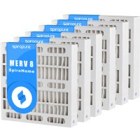 MERV 8 16x20x4 Air Filters (6 Pack)