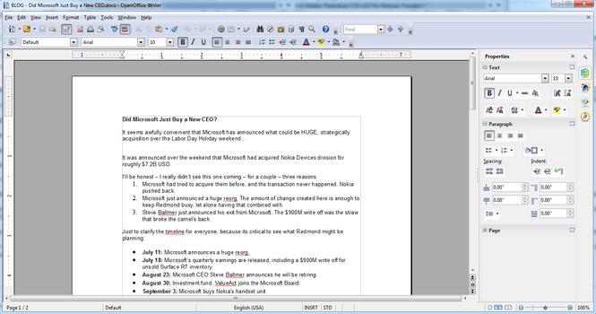 Download OpenOffice 4.1.2