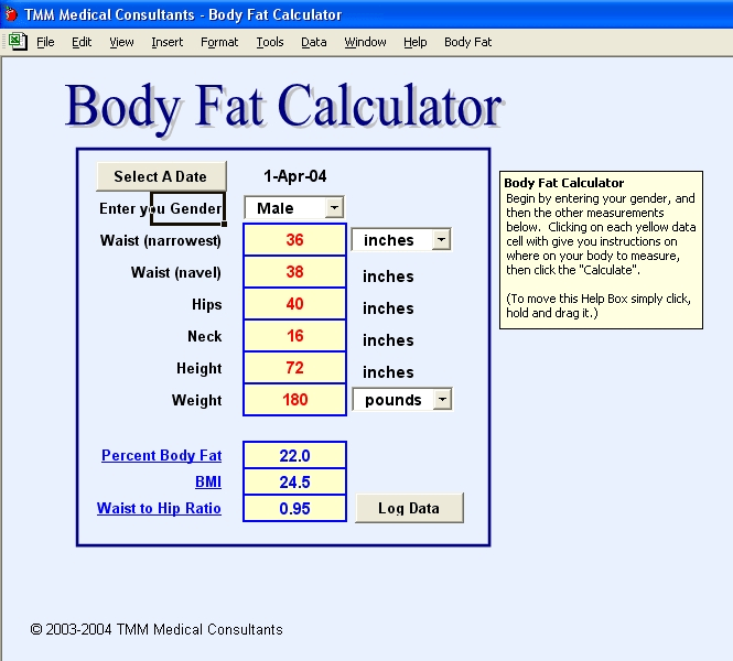 Apft Body Fat Worksheet Free Worksheets Library