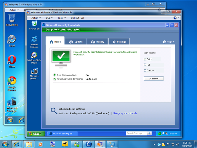 What Microsoft Security Essentials Windows 7