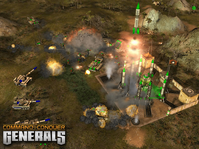 Download Command Conquer Generals 10
