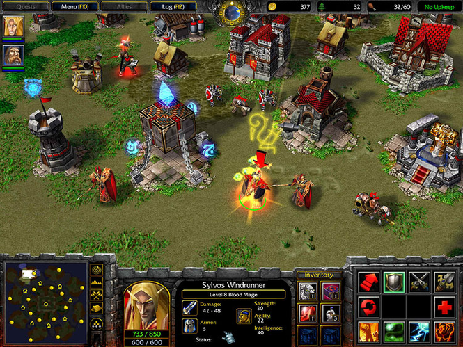 Download Warcraft III The Frozen Throne 126a