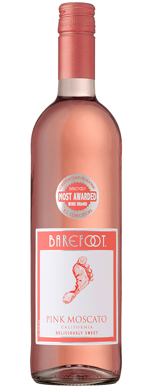 Barefoot Pink Moscato Label : barefoot, moscato, label, Moscato, California, Barefoot