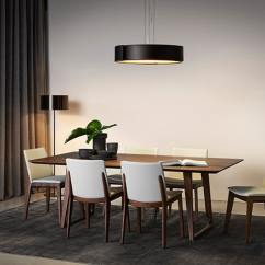 Swivel Chair King Living Steel New Model Furniture Shop In Singapore Opens A Brand Showroom Canyon Dining Table With Aspen Chairs