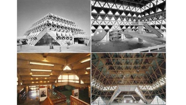 Hall of Nations, Halls of Industries and Nehru Pavillion at Pragati Maidan, New Delhi