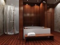 Is Wood Flooring in the Bathroom a Good Idea? | Coswick ...