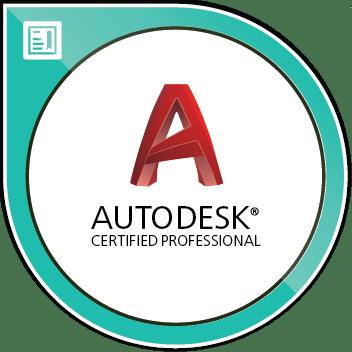 Autodesk Certified Professional Civil 3d Image